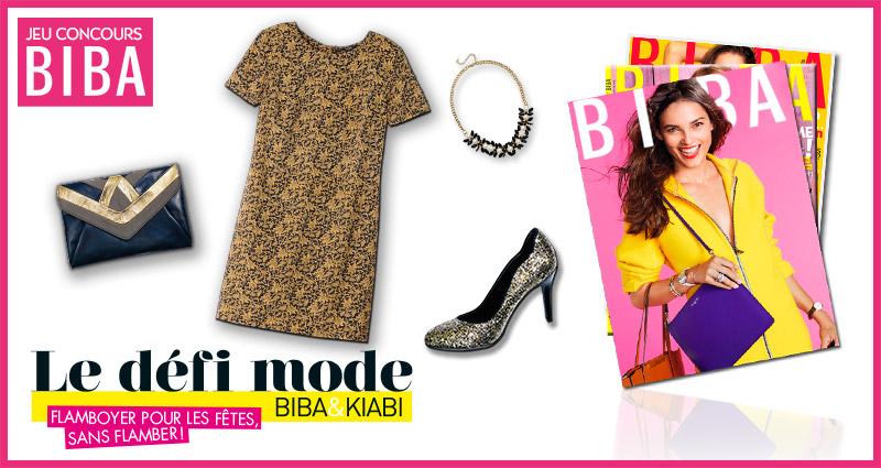 Des bons shopping sur Kiabi.com et 1 abonnement BIBA d'un an à gagner !