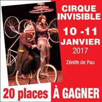 La Rep - Le cirque invisible au Zénith