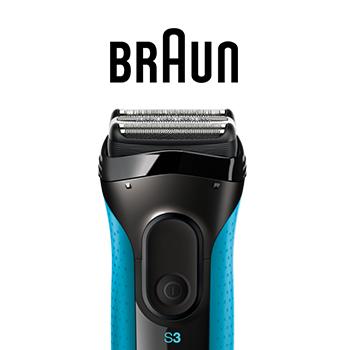 Tentez de gagner des rasoirs électriques Braun Series 3