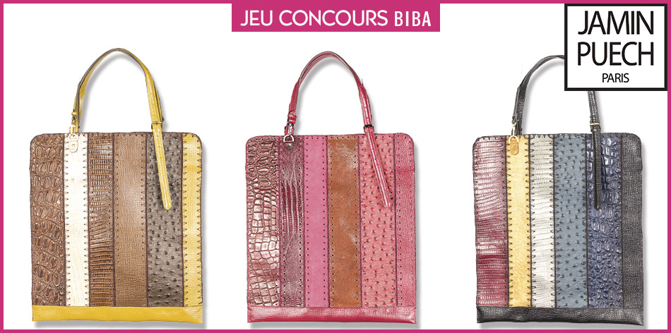 Tentez de gagner un sac en cuir Jamin Puech d'une valeur de 475 euros !