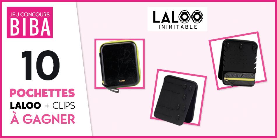 Tentez de gagner une pochette en simili cuir Laloo d'une valeur de 89 euros.