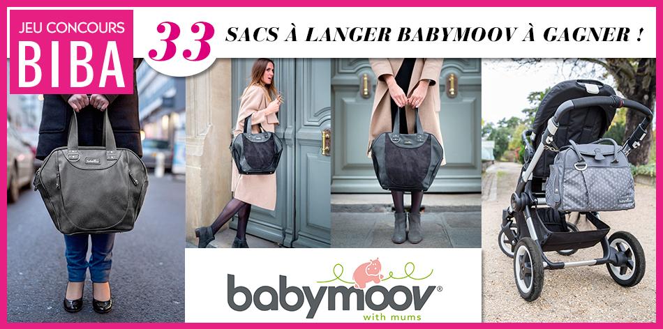 Tentez de gagner un des 33 sacs Babymoov en jeu des collections City Bags, Essential Bags et Style Bags !